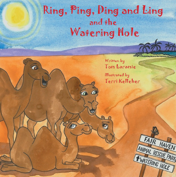 Ring, Ping, Ding and Ling Book Cover Artwork