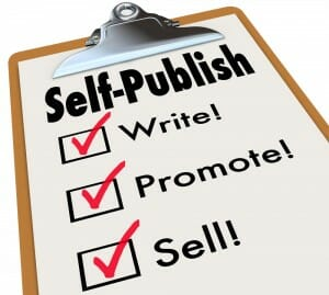 Self-publishing, write, promote, sell